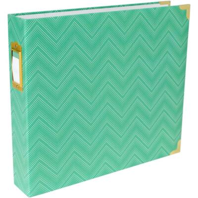 Becky Higgins - Project Life - 12 x 12 Album Mint Chevron