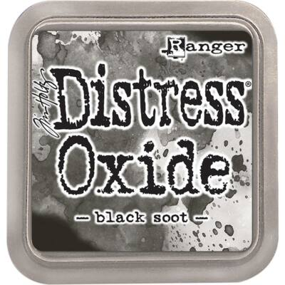 Tim Holtz Distress Oxide Ink Pad - Black Soot