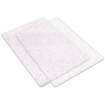 Sizzix Big Shot Cutting Pads - Silver Glitter