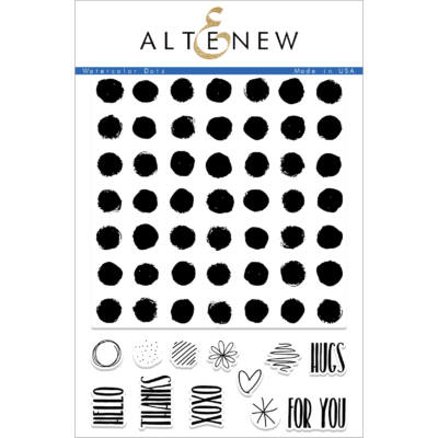Altenew Watercolor Dots Stamp Set