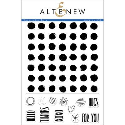 Altenew Watercolor Dots Stamp Set