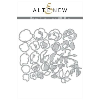 Altenew - Rose Flurries 3D Die Set