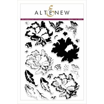 Altenew Ornamental Flower Stamp Set