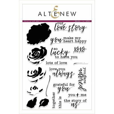 Altenew Stamp Set - Story of Us