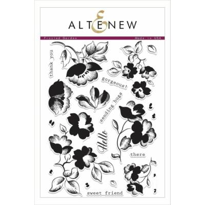 Altenew Frosted Garden Stamp Set