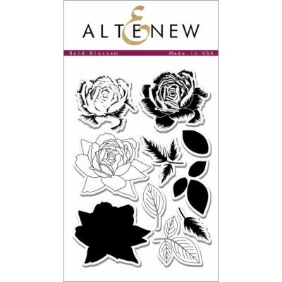 Altenew Bold Blossom bélyegző