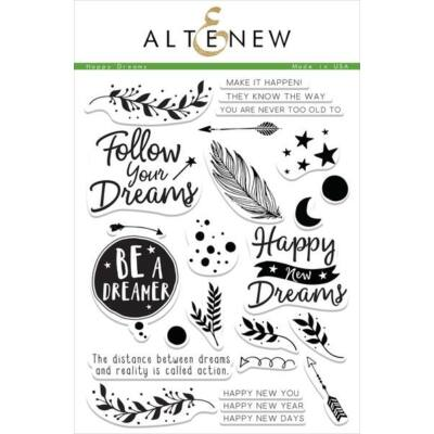 Altenew Happy Dreams Stamp Set
