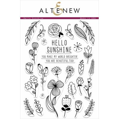 Altenew Hello Sunshine Stamp Set