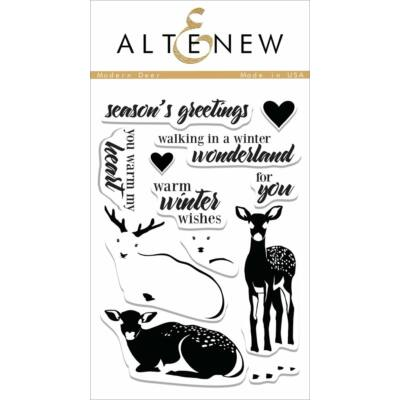 Altenew Modern Deer Stamp Set