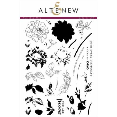 Altenew Remember This Stamp Set