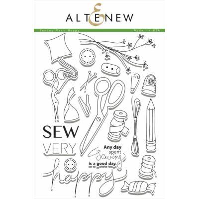 Altenew Sew Very Happy Stamp Set