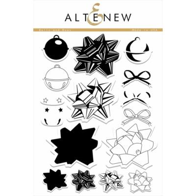 Altenew Bells and Bows Stamp Set
