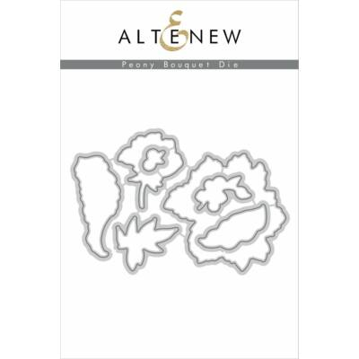 Altenew kovinska šablona - Peony Bouquet