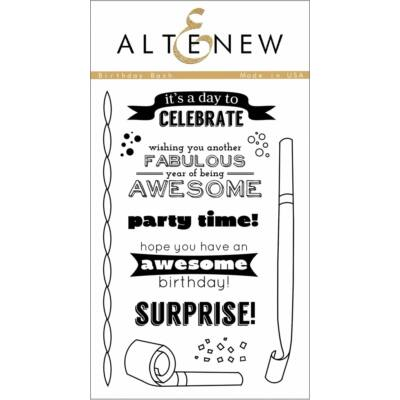 Altenew Birthday Bash Stamp Set