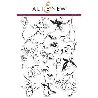 Altenew Golden Garden Stamp Set