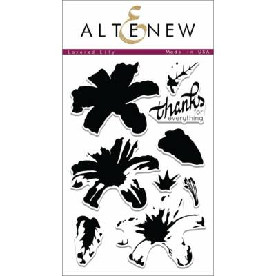 Altenew Layered Lily Stamp Set