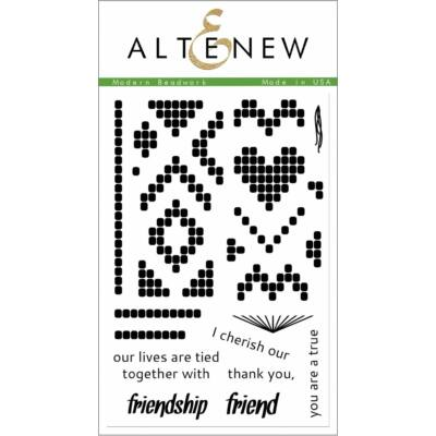 Altenew Modern Beadwork Stamp Set