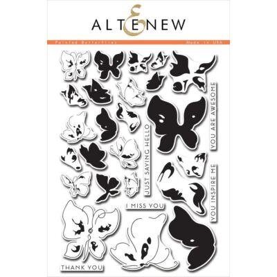 Altenew Painted Butterflies Stamp Set