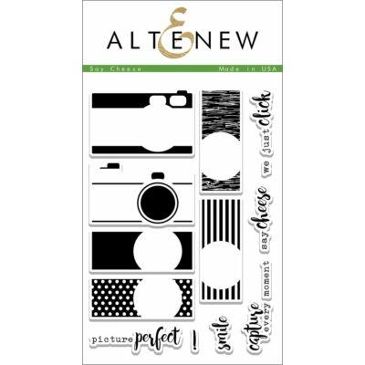 Altenew Say Cheese Stamp Set