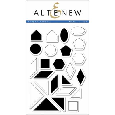 Altenew Simple Shapes Stamp Set