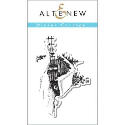 Altenew Winter Cottage Stamp Set