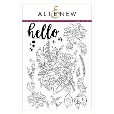 Altenew Blooming Bouquet Stamp Set