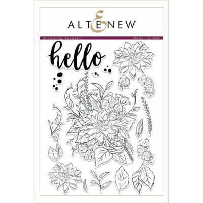Altenew Blooming Bouquet Stamp Set