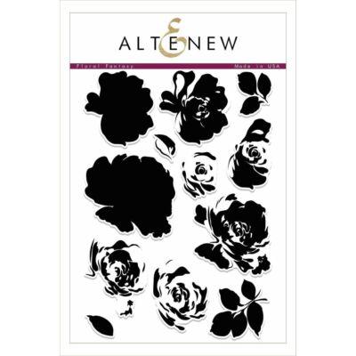 Altenew Floral Fantasy Stamp Set