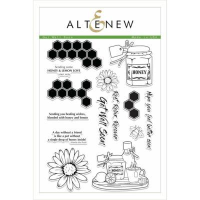 Altenew Get Well Soon Stamp Set