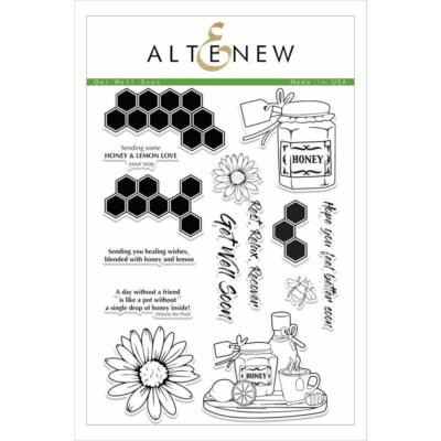 Altenew Get Well Soon Stamp Set