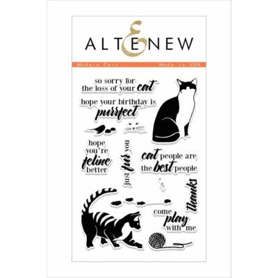 Altenew Modern Cats Stamp Set