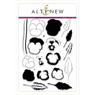 Altenew Pretty Pansies Stamp Set