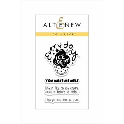 Altenew Ice Cream Stamp Set