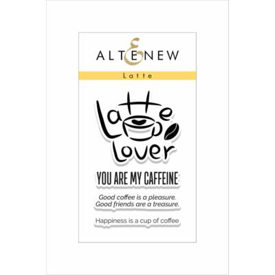 Altenew Latte Stamp Set