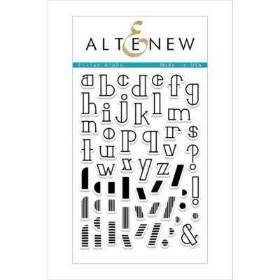 Altenew Filled Alpha bélyegző