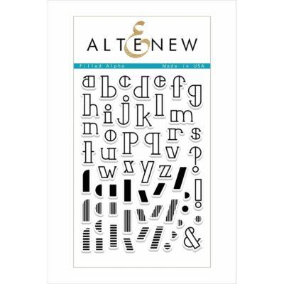 Altenew Filled Alpha Stamp Set