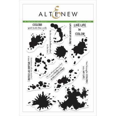 Altenew A Splash of Color Stamp Set