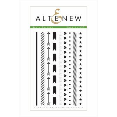 Altenew Basic Borders Stamp Set