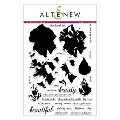 Altenew Perennial Beauty Stamp Set