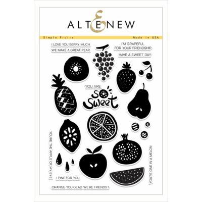 Altenew Simple Fruits bélyegző