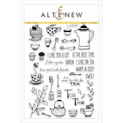 Altenew Tea Time Stamp Set