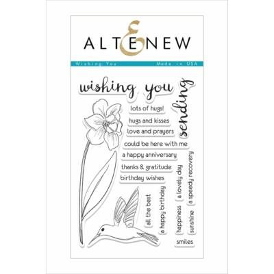 Altenew Wishing You Stamp Set
