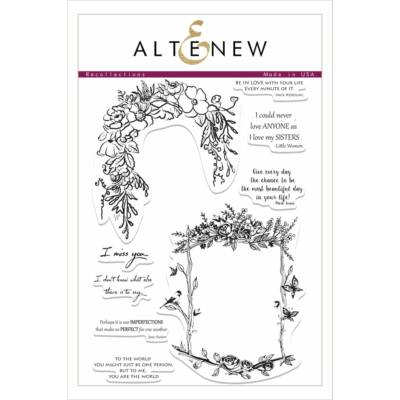 Altenew Recollections Stamp Set