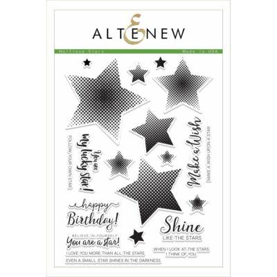 Altenew Halftone Stars Stamp Set