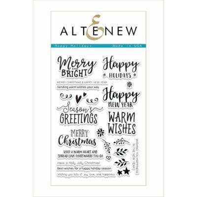 Altenew Happy Holidays Stamp Set