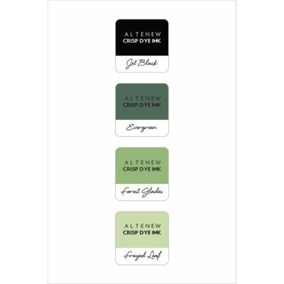Altenew Mini Ink Cube Set - Green Fields