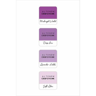 Altenew Shades of Purple Mini Cube Set