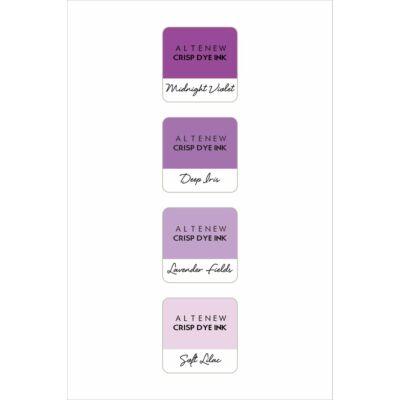 Altenew Mini Ink Cube Set - Shades of Purple