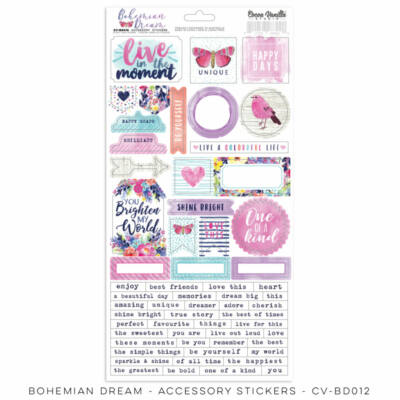 Cocoa Vanilla Studio - Bohemian Dream Accessory Stickers
