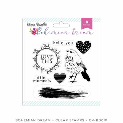 Cocoa Vanilla Studio - Bohemian Dream Stamp Set
